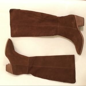 Steve Madden brown Suede leather Knee High Boots